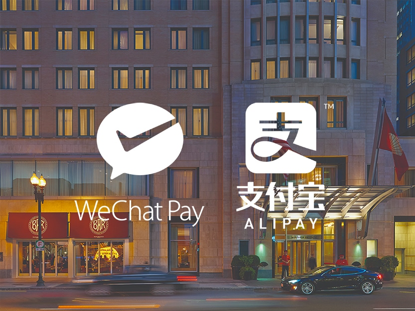 Mandarin Oriental, Boston Announces The Acceptance of Alipay and WeChat Pay